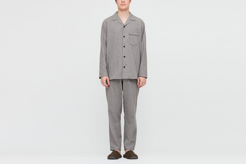 Flannel Long Sleeve Pajamas