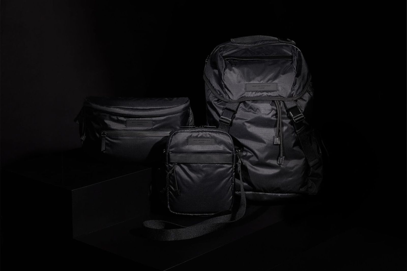 want les essentiels recycled nylon capsule
