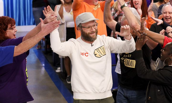 Seth Rogen on 'the price is right'