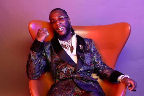 urna Boy poses for a portrait during the BET Awards 2019