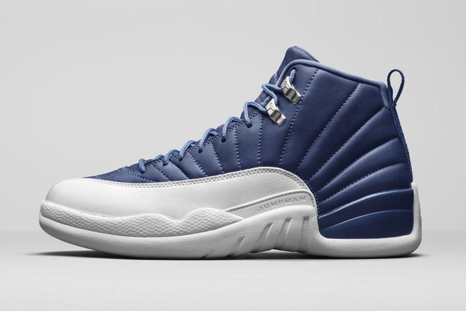Jordan Brand Fall 2020 sneaker lineup Air Jordan 12 blue white