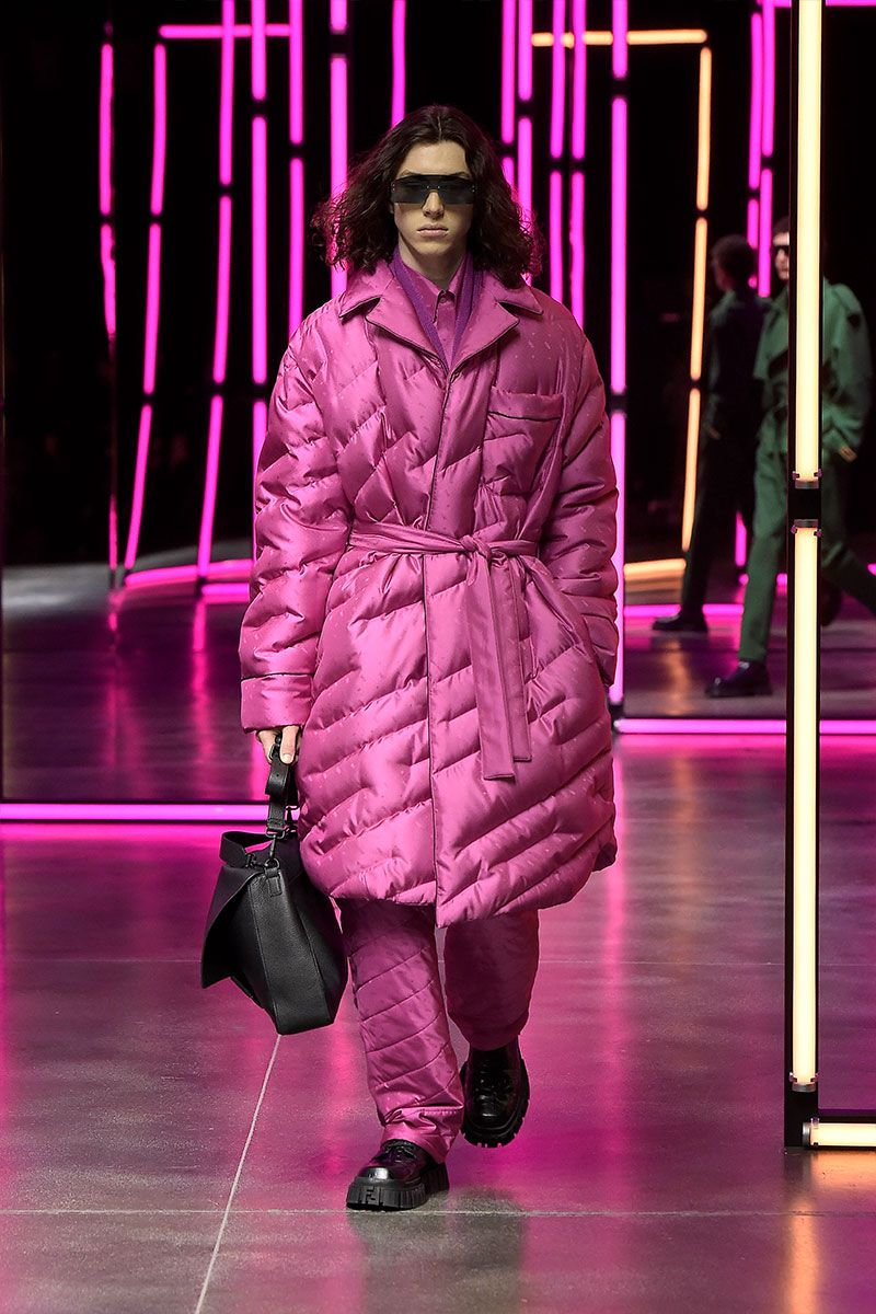 Forget Comfort-Wear, Fendi's FW21 Show Opts For Ultra-Luxe
