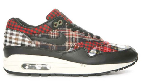 nike air max 1 white grey red flannel