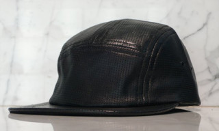 Plain Gravy Fall 2008 Perforated Leather 5-Panel Cap | The Pepper