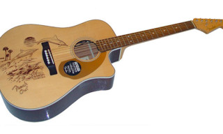 Slam Trick x Fender x Fergadelic Guitar