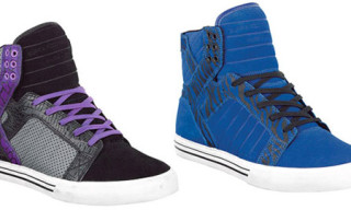 Supra Skytop | Black/Purple and Blue Tiger