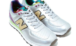 "Atmos x New Balance M576 ""Silver Hologram"" 