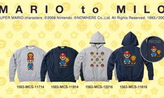 "Bape ""Mario To Milo"" Autumn/Winter 2008 Fleece"