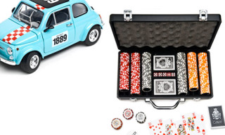 Carhartt Presents Fiat Abarth & Deluxe Poker Set
