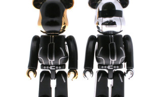 Bearbrick Daft Punk 400% Twin Pack