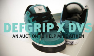 Defgrip x DVS Shoe Auction for Mike Aitken