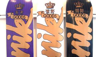 Goods x Manik Skateboards