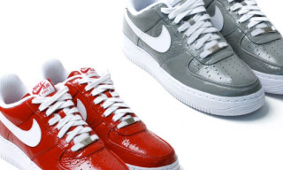 SlamJam x Nike Air Force 1 | Red & Grey Colorway