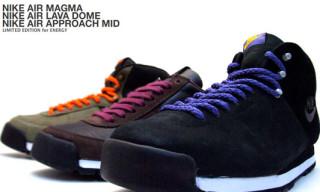 Nike Sportswear Air Approach Mid / Air Lava Dome / Air Magam Limited Editions