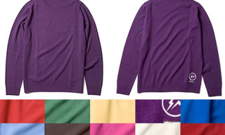 Uniform Experiment Cashmere Crewneck Knit