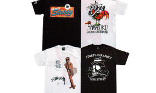 Stussy Harajuku Re-Opening T-Shirts | Reas/Eric Elms/Undefeated
