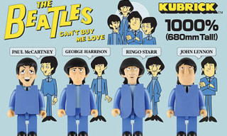 "The Beatles ""Can't Buy Me Love"" 1000% Kubricks"