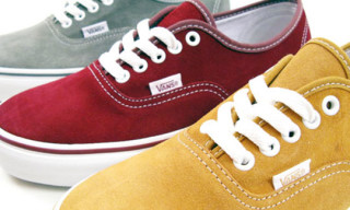 Vans Authentic Suede Pack