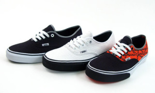 "Vans ""Fixed Gear: Cog & Chain"" Authentics Pack"