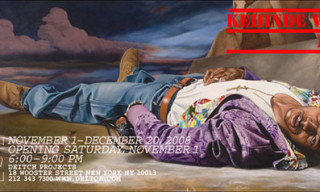 "Kehinde Wiley ""Down"" At Deitch Projects"