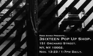 3sixten Pop-Up Store At Reed Annex
