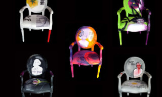 """Andy Dandy"" Arm Chairs By Jimmie Martin"
