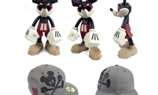 Disney x Span Of Sunset Bloc28 Vinyl Toy & New Era Cap