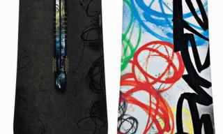 Burton x Futura Vapor Snowboard