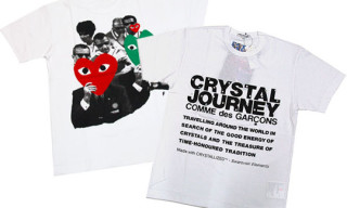 "Comme Des Garcons PLAY ""Crystal Journey"" X'Mas T-Shirts"