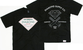 "Diamond Supply Co. x Active ""Paul Rodriguez"" T-Shirts"