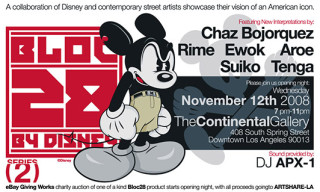 Bloc 28 by Disney Street Art Exhibition