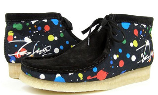 Futura x Clarks Wallabee Boots