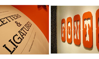 "House Industries ""Letters and Ligatures"" Exhibition Preview"