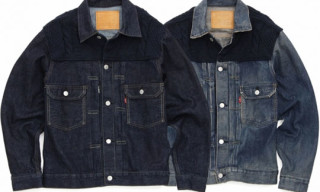 Levi's Fenom 2nd Type Jacket – Navy Knit Custom