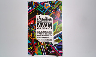 MWM Design Exhibit at Threadless Chicago