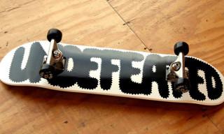 Paper Mag 24hr Store Undefeated x Geoff McFetridge Skateboard