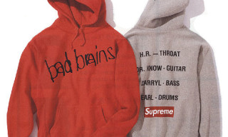 Supreme x Bad Brains Fall/Winter 2008 Collection