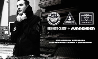 Surrender x Reigning Champ By Ben Drury