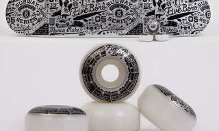 5 Boro x Grotesk Pigeon League 2008 | Skate Deck & Wheels