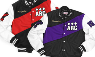 A.R.C. x Mitchell & Ness Varsity Jacket Available Online