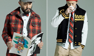 Band Of Outsiders x Beauty & Youth x honeyee.com | How To Enjoy Ties