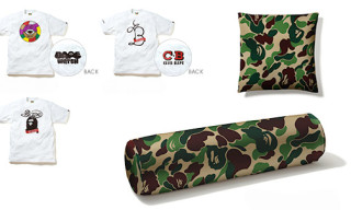 "Bape x WTAPS ""URSUS"" T-Shirts & Bape x Tempur Pillows"