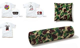 "Bape x WTAPS ""URSUS"" T-Shirts & Bape x Tempur Pillows"