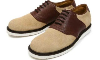 Resonate x Cause Saddle Shoes | Beige/Brown Colorway