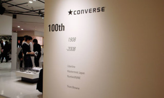 Isetan x Converse 100th Anniversary Exhibition