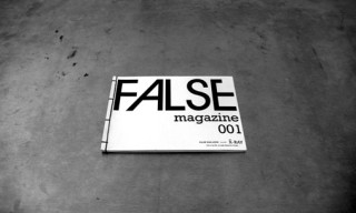 "False Magazine: Issue 001 ""X-Ray"""