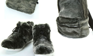 Hare Fur Boots & Accessories