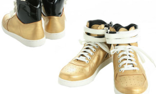 Hare Fall/Winter 2008 Gold Hi-Top Sneaker