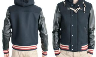 Journal Standard Hooded Varsity Jacket