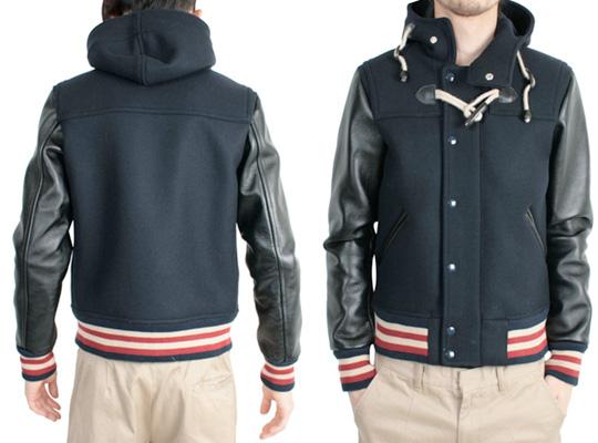 Journal Standard Hooded Varsity Jacket | Highsnobiety